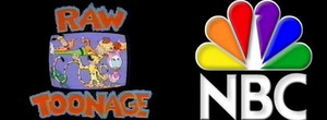 Disney's Raw Toonage titel with NBC logo