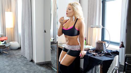 WWE Divas achtergrond probably with a bikini, a lingerie, and an underwear entitled Diva dag Off: Natalya