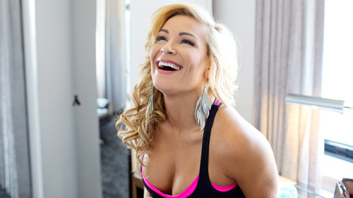 WWE Divas achtergrond possibly containing a portrait titled Diva dag Off: Natalya