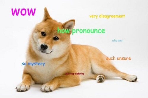 Болталка Обои called Doge Full Body