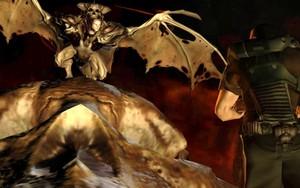 Doom 3: Demon and el espacio Marine
