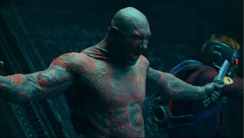 Guardians of the Galaxy 바탕화면 entitled Drax and Star-Lord