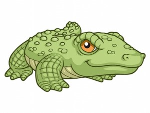 Durillia the crocodile