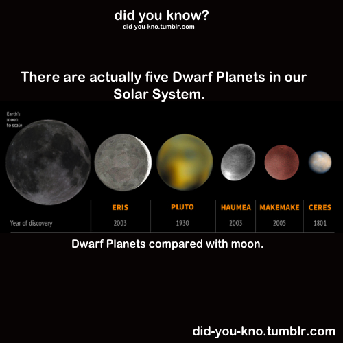 the dwarf planets from earth - photo #5