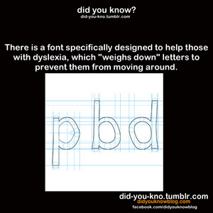 Dyslexia-Friendly Font