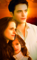 Edward,Bella and Renesmee - twilight-series photo