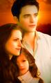 Edward,Bella and Renesmee - twilight-series photo