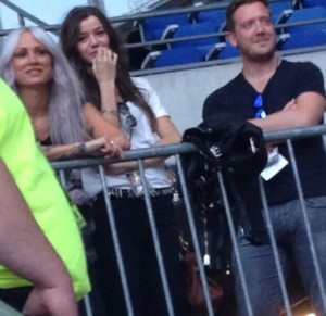 Eleanor and Lou in Paris - June 21, 2014