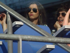 Eleanor and Louis watching McBusted performing yesterday