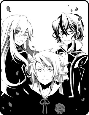 Elliot, Vincent and Gilbert Nightray