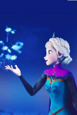 Elsa iPhone wallpaper