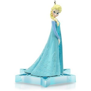 Elsa keepsake ornament from Hallmark