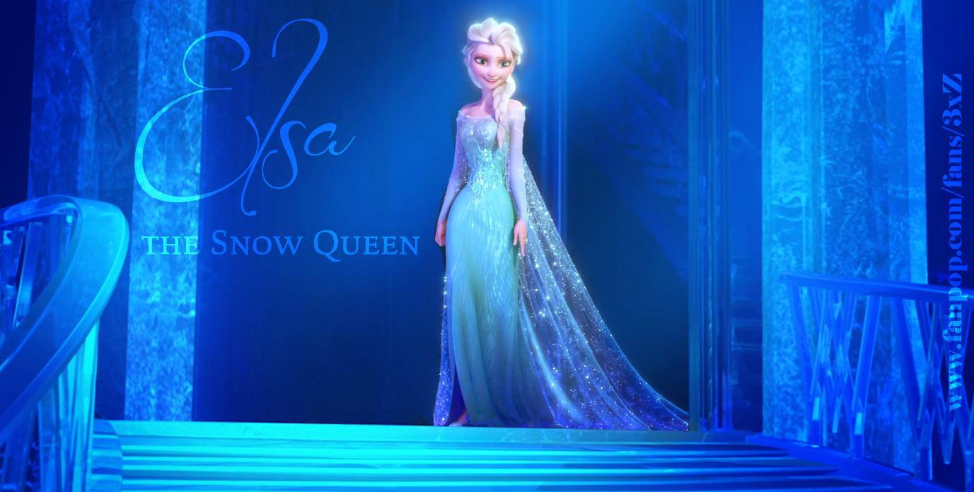 snow queen elsa frozen - photo #14