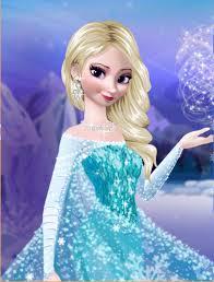 Elsa with hair down