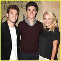 Emily Osment  - david-henrie photo