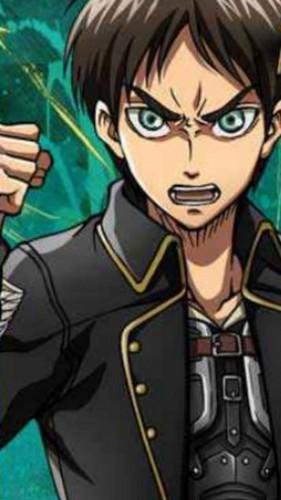 Attack on Titan karatasi la kupamba ukuta containing anime titled Eren Yeager!