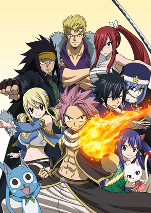 Fairy Tail 2014 poster :)