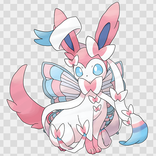 Pokémon achtergrond probably with anime called Fanmade Mega Sylveon