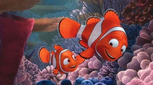 Father and son, marlin and nemo. Happy Father's Day!