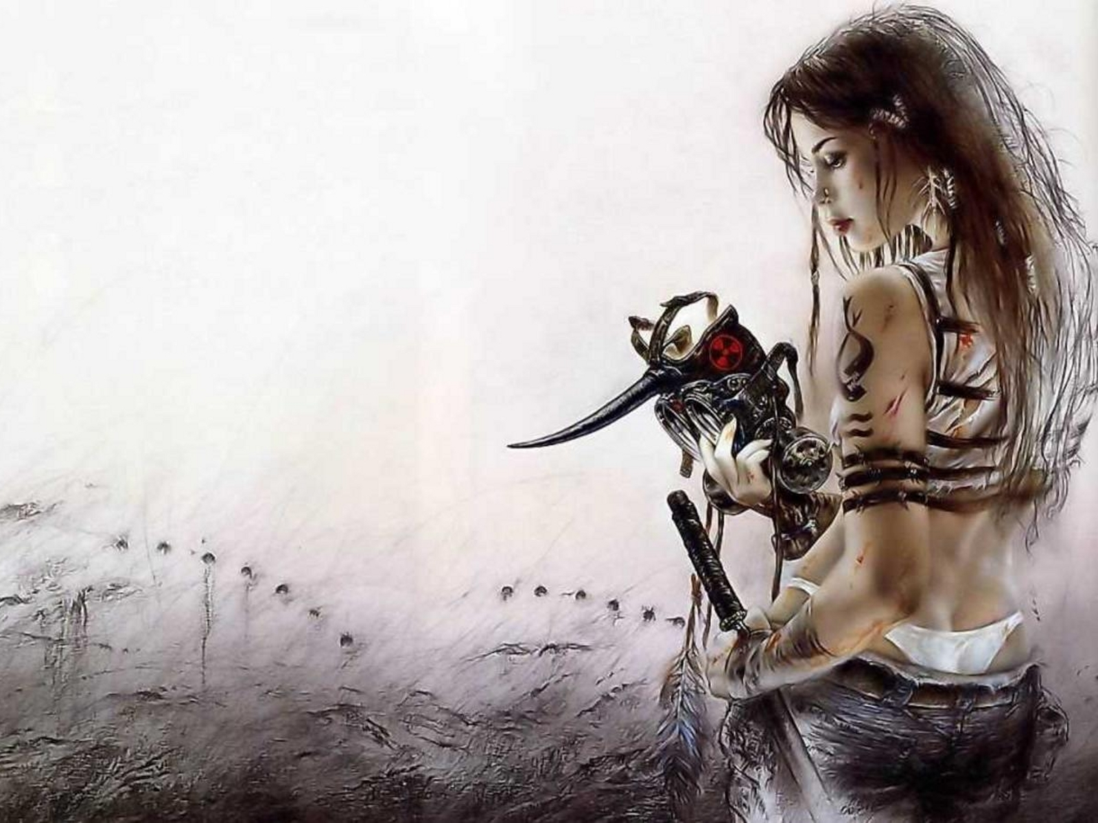 Female Warrior Beauty