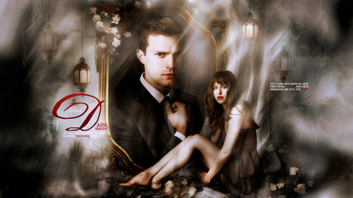 Fifty Shades-Trilogie Hintergrund probably with a brunnen and a feuer entitled Fifty Shades of Grey Fan art