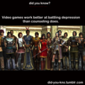 Fight Depression with Gaming - video-games photo