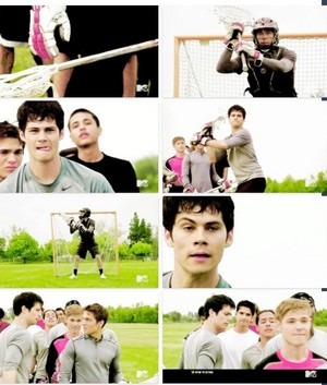 Finding stiles on the field!