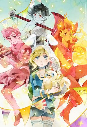 Fionna and Princes's