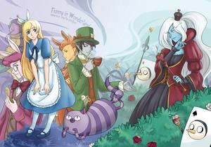 Fionna in Wonderland