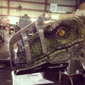 First Look at Jurassic World's Raptor (2015)