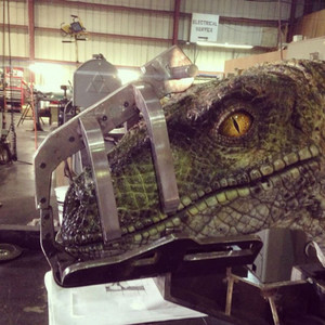 First Look at Jurassic World's Raptor