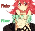 Flippy and Flaky as humans
