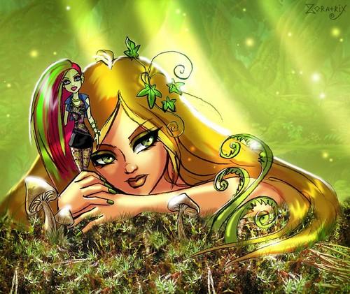 윙스 클럽 바탕화면 entitled Flora & Venus