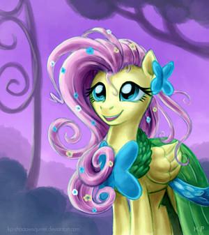 Fluttershy Gala Potrait