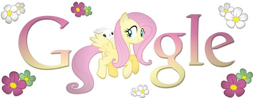 माइ लिट्ल पोनी फ्रेंडशिप ईज़ मॅजिक वॉलपेपर titled Fluttershy- गूगल