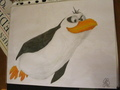Flying Rico  - penguins-of-madagascar fan art