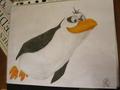 Flying Rico  - penguins-of-madagascar fan art