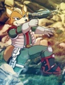Fox McCloud Art Work (Star Fox Assault) - star-fox photo
