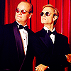 Frasier photo possibly containing a business suit titled Frasier and Niles