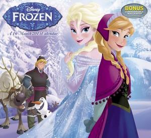 Frozen 2015 دیوار Calendar