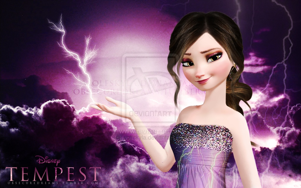Frozen: Element swapped to lightning (Tempest)
