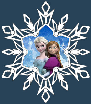 Frozen - Elsa and Anna Ornament