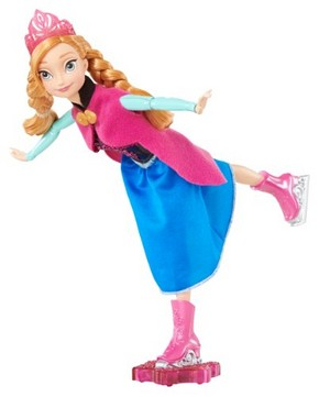 Frozen Ice Skating Anna Doll