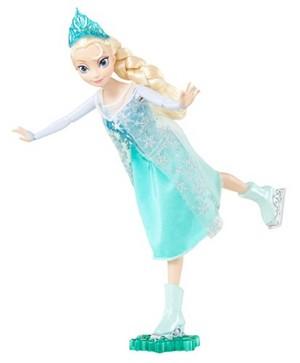 Frozen Ice Skating Elsa Doll