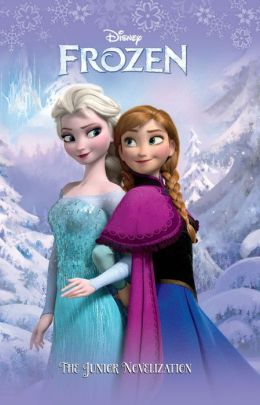 Frozen Junior Novelization Cover