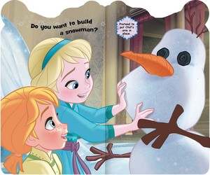 frozen Melt My Heart: Share Hugs with Olaf Book