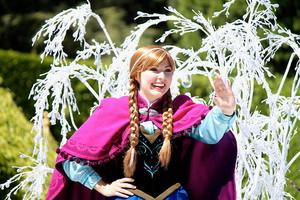 Frozen Pre-Parade