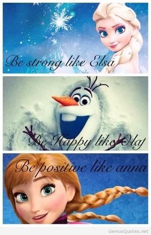 La Reine des Neiges Quote
