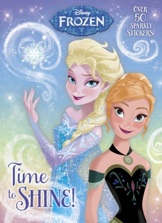 Princess Anna kertas dinding called Frozen Time to Shine Book
