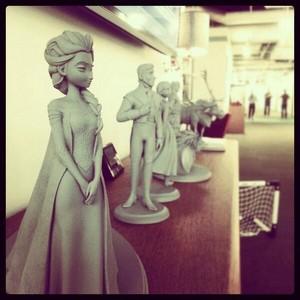 Frozen maquettes